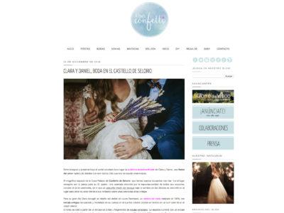 A todo Confetti - La boda de Clara y Dani