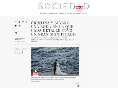 Hola.com  -  La Boda Cris y Álvaro
